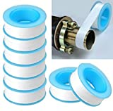 TOTAL HOME : 10PCS Roll Plumbing Plumber Fitting TeflonTape PTFE For Water Pipe Sealing