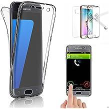 THEcoque¨ Coque FULL INTEGRAL 360 etui housse de protection en silicone pour SAMSUNG Galaxy S7 EDGE