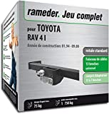 Rameder Pack attelage rotule Standard 2 Trous pour Toyota RAV 4 I + Faisceau...