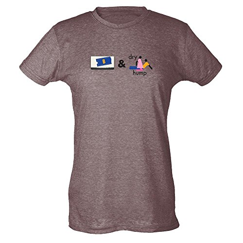 blockbuster-and-dry-hump-funny-heather-brown-2xl-womens-t-shirt-by-pop-threads