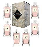 Set von 6 (sechs) Parfüm für Damen 15ml Jedes einzelne Box Spray. ORGANITERRA. (Eau de Parfum)