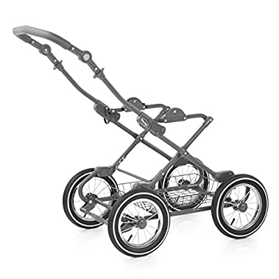 BabyStyle Prestige 2 Classic Chassis Travel System, Grey