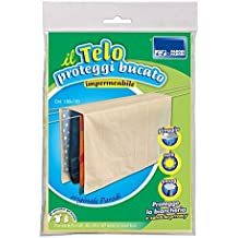 Tela para cubrir el tendedero, 150 cmx 120cm, tela antilluvia, color beige, impermeable y transpirable.