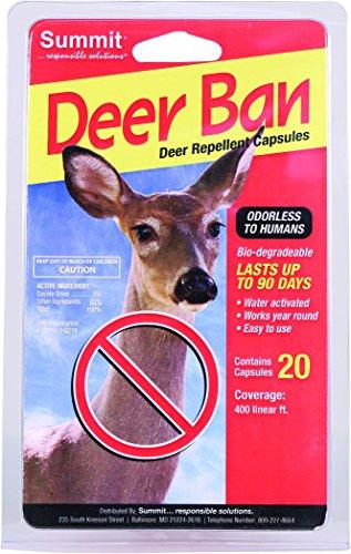 SUMMIT RESPONSIBLE SOLUTN 2000 20 Count Deer Ban Deer Repellent Capsules
