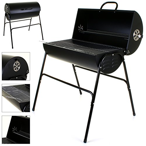 51vLDg0B 6L. SS500  - Marko Outdoor BBQ Charcoal Barbecue Smoker Outdoor Garden Black Cooking Grill Patio Barbeque
