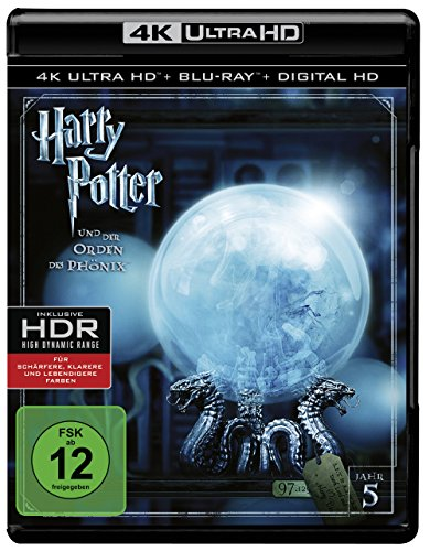Bild von Harry Potter und der Orden des Phönix  (4K Ultra HD + 2D-Blu-ray) (2-Disc Version)