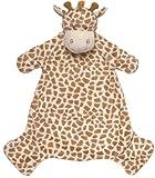 Suki 10048 Kuscheltuch Bing Giraffe, circa 43.8 cm, braun