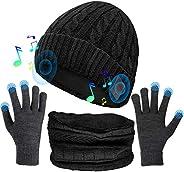 Musica Cappello, Cappello Bluetooth con Altoparlanti Stereo Integrati, Regali Unici per Uomo/Donna, Cappello S