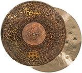 Meinl Cymbals B14EDMH Meinl Byzance Extra Dry HiHat Becken Paar 35,56cm (14 Zoll) Medium