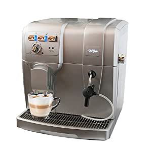 machine caf del gusto km10 enti rement automatique cafeti re percolateur expresso latte. Black Bedroom Furniture Sets. Home Design Ideas