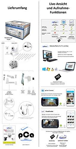 upCam Cyclone HD S+ IP Kamera mit Nachtsicht (mit SONY Exmor FULL HD Sensor 1920×1080 - 5