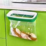 Generic Garbage Bag Holder Plastic Bracket Stand Rack Kitchen Trash Storage Hanger