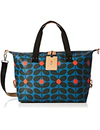 Womens Medium Messenger Bag, Multicolour (Charcoal Blue), 29x25x9.3 cm (W x H x L) Orla Kiely