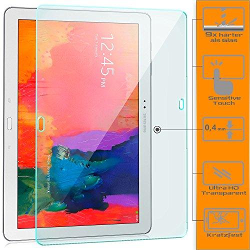 zanasta Displayschutz Folie kompatibel mit Samsung Galaxy NotePRO 12.2 Displayschutzfolie aus gehärtetem Glas Schutzglas Glasfolie Schutzfolie | Klar Transparent