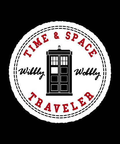 -- Time Space Traveler -- Boys Kapuzenpullover Schwarz