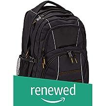 (Renewed) AmazonBasics Laptop Backpack - Fits Up To 17-Inch Laptops