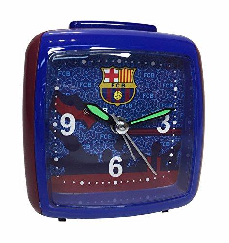 FC Barcelona–Despertador cuadrado sliencieux FCB Blue Side Foot