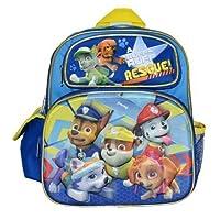 """Paw Patrol 12"""" Adjustable 3D Backpack - Blue"""
