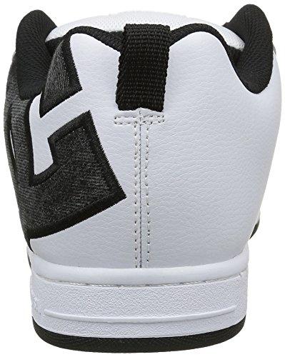 Dc Universe Court Graffik Se Sneaker Uomo Bianco weiß white grey black - Wg2