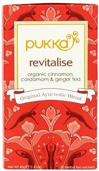 Revitalise , 20 Count : Pukka Organic Teas, Revitalise, 20 Count