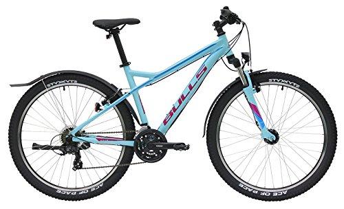 Damen Fahrrad 27.5 Zoll hellblau - Bulls Nandi Street Mountainbike - Shimano Schaltung 21 Gänge (Street Damen Gang Blauer)