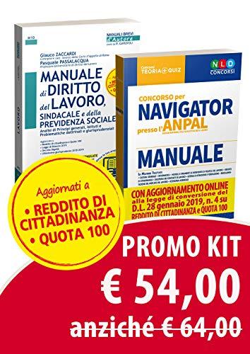 Kit concorso per Navigator presso l'ANPAL. Manuale-Manuale di diritto del lavoro aggiornato a Quota 100