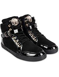 [Sponsored]Jynx Black Tiger Sneakers For Men's