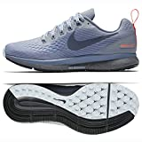 NIKE Damen Air Zoom Pegasus 34 Shield Fitnessschuhe, Mehrfarbig (Wolf Grey/Thunder Dark Sky Blue 002), 37.5 EU