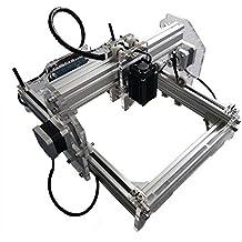 500 mW Desktop DIY Laser Engraving Machine Escritorio Grabador CNC Láser Máquina de Grabado Impresora Aleación de Aluminio y Material Acrílico Tamaño A5