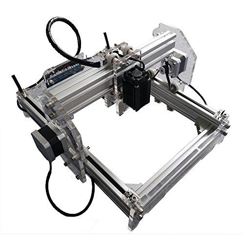 Laser-carving-messer (2500MW Alulegierung Desktop DIY CNC Laser Gravierer Engraver Gravur Gravieren Schnitzen Schneiden Maschine Graviermaschine Drucker Laserdrucker A5)