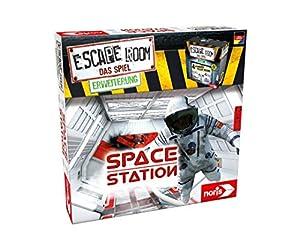 Noris Escape Room Space Station Niños y Adultos Viajes/Aventuras - Juego de Tablero (Viajes/Aventuras, Niños y Adultos, 60 min, 16 año(s), Caja Cerrada)