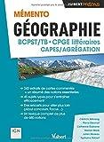 Mémento Géographie BCPST- CPGE littéraires - CAPES / Agrégation - Sujets types - Commentaires de cartes topographiques - Études de documents