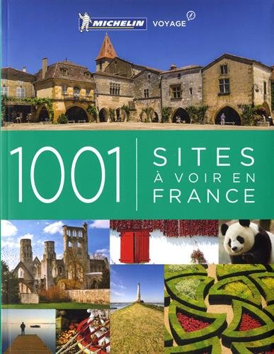 Descargar Libro 1001 sites à voir en France de Michelin