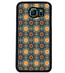 PrintDhaba Pattern D-5388 Back Case Cover for SAMSUNG GALAXY S6 (Multi-Coloured)