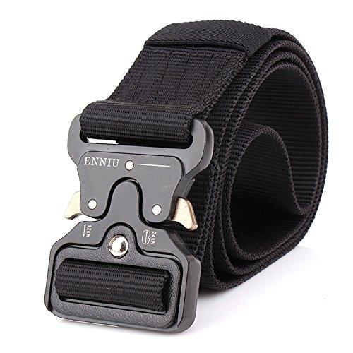 FEIKCOR Cinturón táctico, cinturón táctico de servicio pesado de 1.75