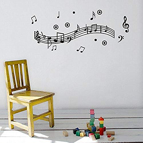 Kreative Aufkleber Musik Registerkarte Musik Umgebung GravurWandaufkleber Wand-Aufkleber Fototapete Wandtattoo Wanddekoration -