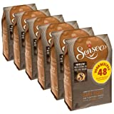 Senseo Kaffeepads Dark Roast / Kräftig, Intensiver und Vollmundiger Geschmack, Kaffee, neues Design, 6er Pack, 6 x 48 Pads
