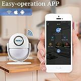 WiFi Home Security Alarm System DIY Kit IOS/Android Smartphone App, MAIN Panel Sensor Tür/Fenster Burglar Alarm 120dB