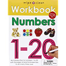 Numbers 1-20 [With Wipe Clean Pen] (Wipe Clean Workbooks)