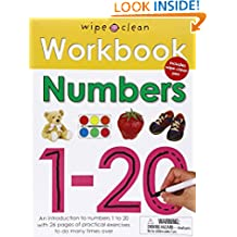 Wipe Clean Workbook Numbers 1-20 (Wipe Clean Learning Books)
