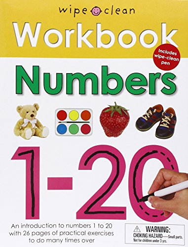 Numbers 1-20 [With Wipe Clean Pen] (Wipe Clean Workbook)