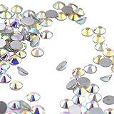 Healifty 1000 stücke Nail Art Strasssteine Kit DIY Nagel Studs Kristallglas Perlen Edelsteine für Nail Art Dekorationen Liefert Make-Up Kleidung Schuh
