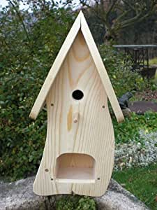 dekorativer nistkasten nb1 mit vogelfutterhaus zum selbst bauen bausatz vogelhaus vogelh uschen. Black Bedroom Furniture Sets. Home Design Ideas
