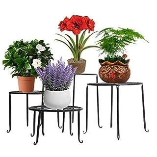 aishn Metall Getopfte Übertopf/Blumentopf Halter Display Rack Ständer/dekoratives Pflanzgefäß Ständer