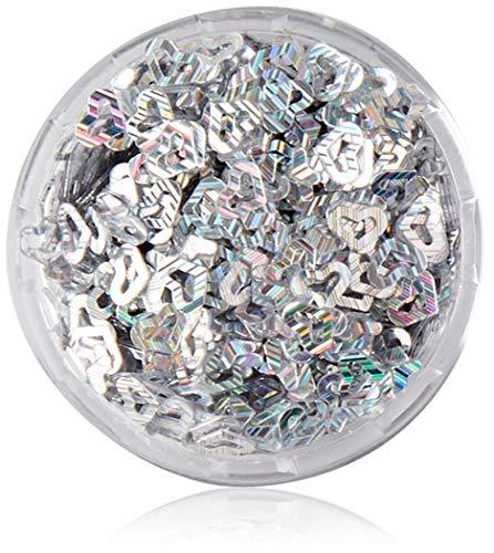 Scopri offerta per Pro Impressions - Decorazione per unghie motivo: cuori aperti colore: argento