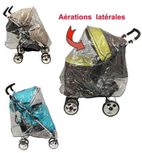 Universal Regenschutz für Kinderwagen mit Vordach