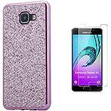 Pheant® [2in 1] Samsung Galaxy A5 (2016) SM-A510F Coque Gel Étui de Protection en Silicone Pétillant Paillette Désign
