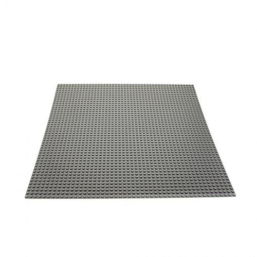 1 x Lego System Bau Basic Platte neu-hell grau 38x38 cm 48x48 Noppen Space Mosaik Mosaic 10701 628 4186 - Platte Lego Bau Graue