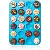 Muffinformen 24 Hohlraum_mini..muffin_tasse..silikon_seife..kekse_kuchen..bac✅neu 2019✅
