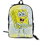 Angel Spongebob Laptop-Rucksack für 38,1 cm (15 Zoll) Laptops Casual Rucksack geeignet für...